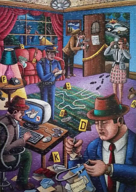 Crime Scene By Artist Jett Jackson A Promotional Piece Done For A