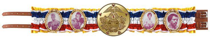 Cinturón Rocky Balboa. World Championship, escala 1:1