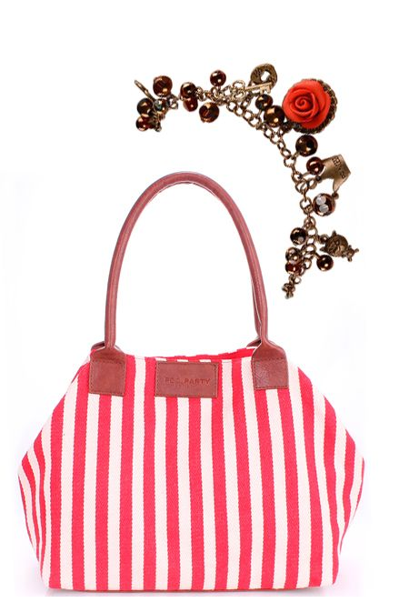 Мини образ с сумкой в полоску и браслетом  купить за 822 грн. в интернет-магазин Stilecity  ✔ Лучшие цены ☆ Создайте свой собственный образ ♡ #Stilecity, новый капсульный гардероб на каждый день. Образ содержит: сумка браслет