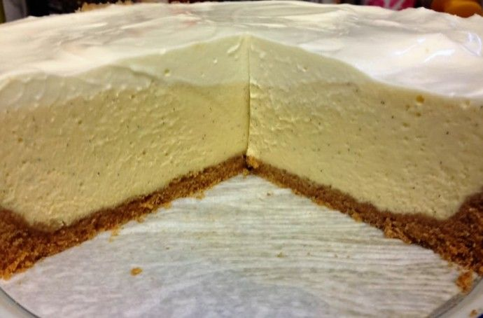Pressure Cooker New York Style Vanilla Bean Cheesecake - This Old Gal