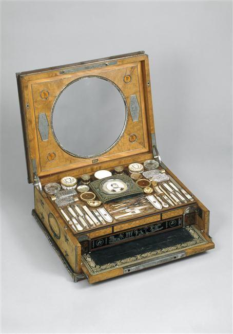 Nécessaire de toilette de l'impératrice Joséphine, 1806 Réunion des musées nationaux
