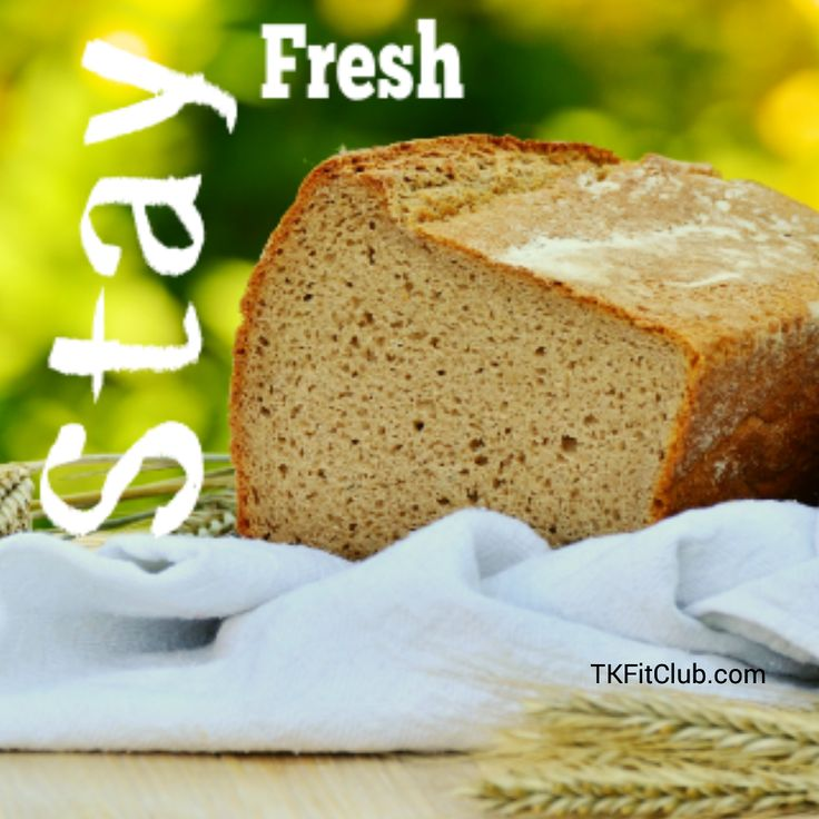 Stay fresh! When you let go of old new can enter. Otherwise, you start to feel like stale bread. #Truth #bread #quotes #fresh #newbeginnings #TKFitClub