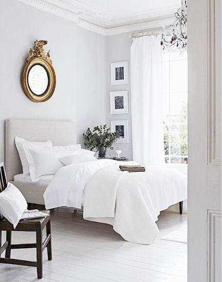 Dormitorios blancos, última tendencia
