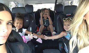 http://www.dailymail.co.uk/tvshowbiz/article-3246023/Close-bond-Kim-Kardashian-posts-sweet-snap-North-West-Penelope-Disick-holding-hands-family-road-trip.html