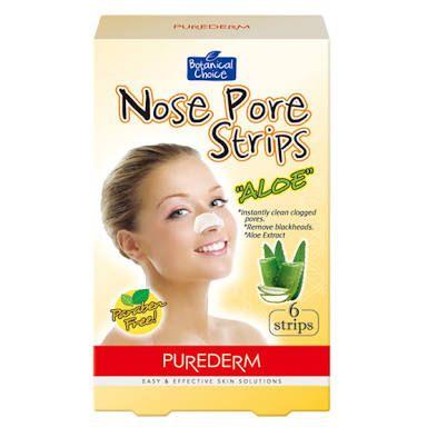 Purederm Nose Pore Strips Aloe