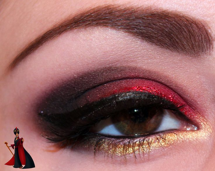 Disney : Jafar eye makeup