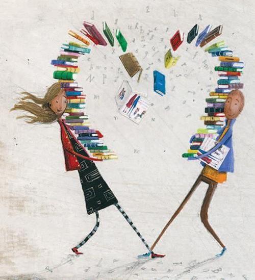 ¡Por los libros se puede llegar a conocer el amor!