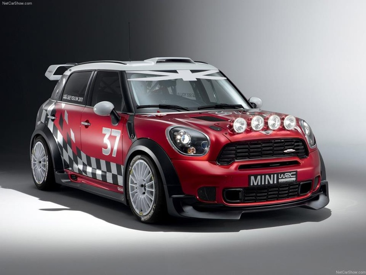 2011 Mini WRC (World Rally Championship) racer. Recently seen in a BBC Top Gear challenge in Lillehammer, Norway in a race against British Olympic gold medal skeleton sledder Amy Williams.