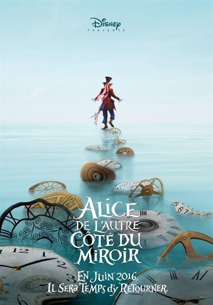 Alice au pays des merveilles 2 : déjà les premières affiches ! - Diaporama - AlloCiné