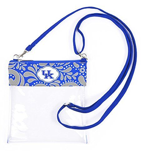 Kentucky Wildcats Clear Gameday Crossbody Bag Sports Team... https://www.amazon.com/dp/B01LYUBAIT/ref=cm_sw_r_pi_dp_x_QGr-xbJA7JSSE