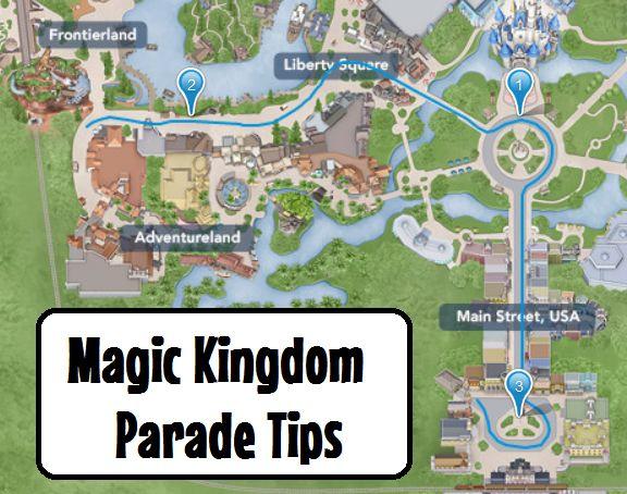 Magic Kingdom Parade Tips