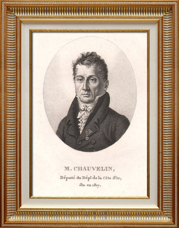 Bernard-François, Marquis de Chauvelin (upon whom Citzen Chauvelin was loosely based)