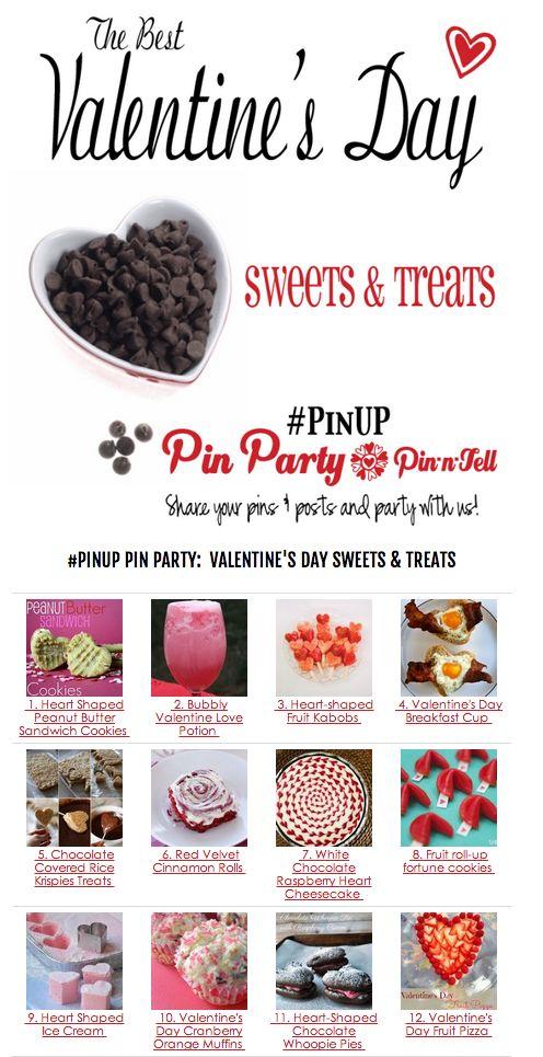 Valentines Day Sweets & Treats   Pinterest   Holidays