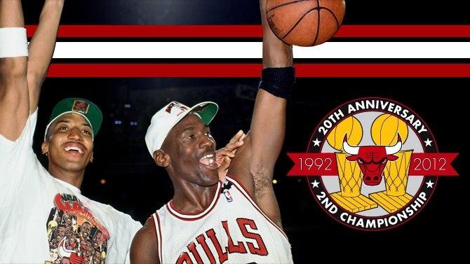 Chicago Bulls Basketball champs.