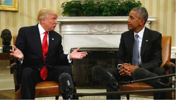 """Sources: Trump Left Obama Meeting """"Surprised"""" By Scope Of Presidential Duties -- Donald Trump is in way over his head, and Pres. Obama knows it."""