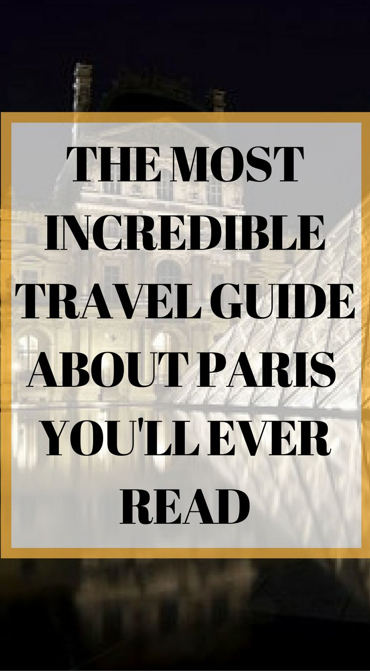 The most incredible travel guide about Paris you'll ever read by the Divergent Travelers Adventure Travel Blog. Click to read the Paris Travel Guide (Long Weekend in Paris Itinerary – 4 Days in Paris Guide) http://www.divergenttravelers.com/long-weekend-in-paris/
