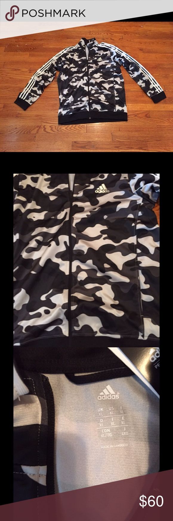 New Adidas Camouflage Zip Up Jacket. New Adidas Camouflage Zip Up Jacket. Size. M Adidas Jackets & Coats Lightweight & Shirt Jackets