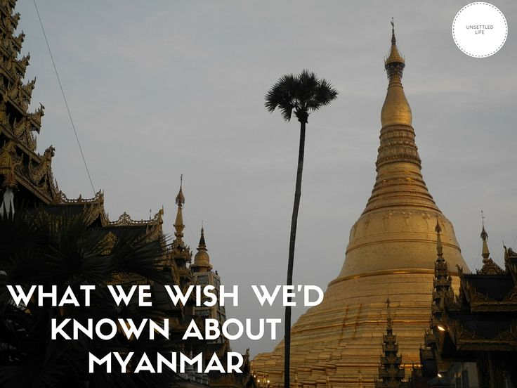 Many useful tips for travel to Myanmar (Burma), things we didn't find in the guidebook. What to pack, what to know, what to prioritize before you go to Myanmar/Burma!
