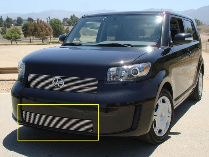 Incroyable Scion Bumper Grille Insert 08 10 Scion XB Aluminum Polished Billet Series  T REX