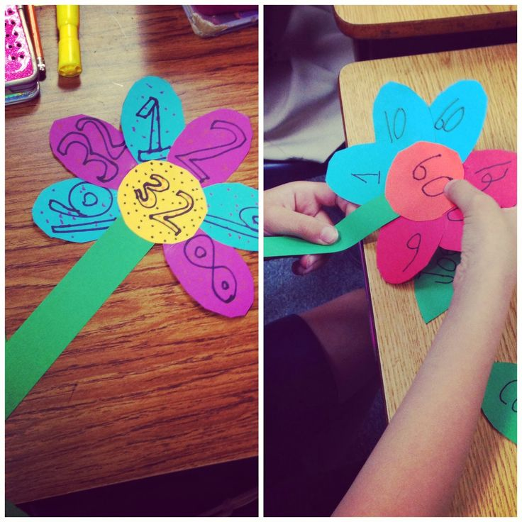 Factor Flowers Great Spring Bulletin Board Fancy Free In Fourth Math GamesMath ActivitiesFirst