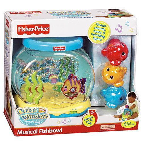 Fisher price ocean wonders musical fishbowl products for Fisher price fish bowl
