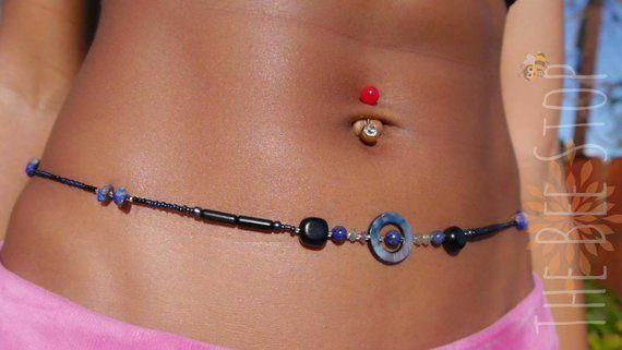 Royal Waist beads-waist bead set-belly beads-belly chain-waist chain waistlet-jewelry-body chain