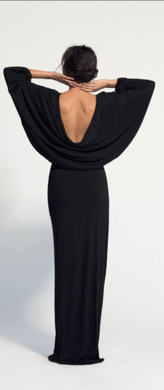 Batwing dress jaglady