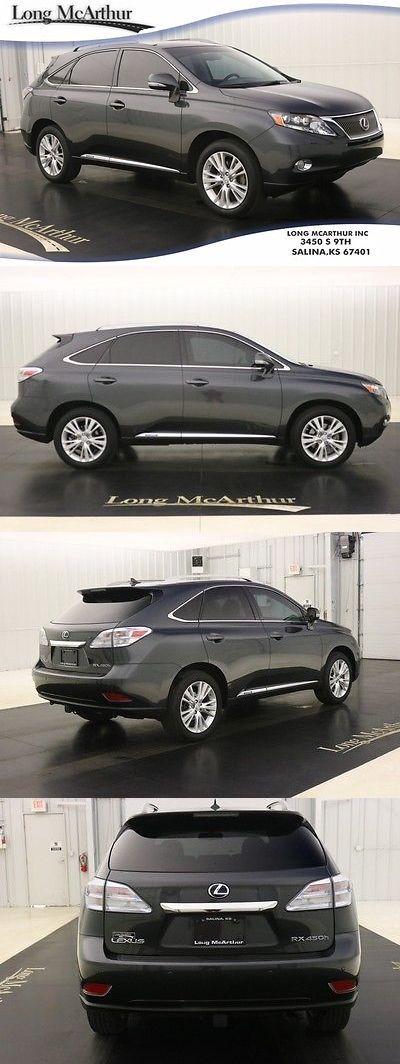 SUVs: 2010 Lexus Rx 450H Awd 4 Door Suv Nav Sunroof Navigation Moonroof Leather Rear View Camera Reverse Sensing Power Liftgate -> BUY IT NOW ONLY: $24900.0 on eBay!