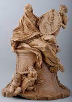 Pierre Legros, Bozzetto per il monumento funebre di Innocenzo XI - Bozzetto for the Tomb of Pope Innocent XI
