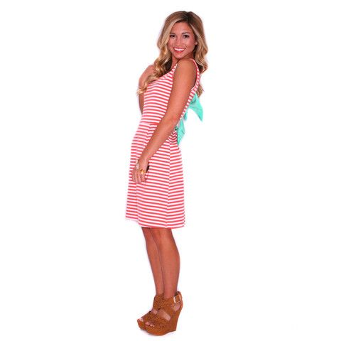 Nautical Bliss Coral | Impressions Online Women's Clothing Boutique
