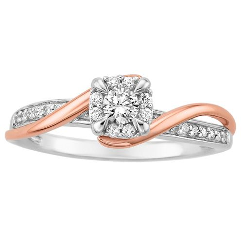 New Fred Meyer Jewelers ct tw Diamond Engagement Ring