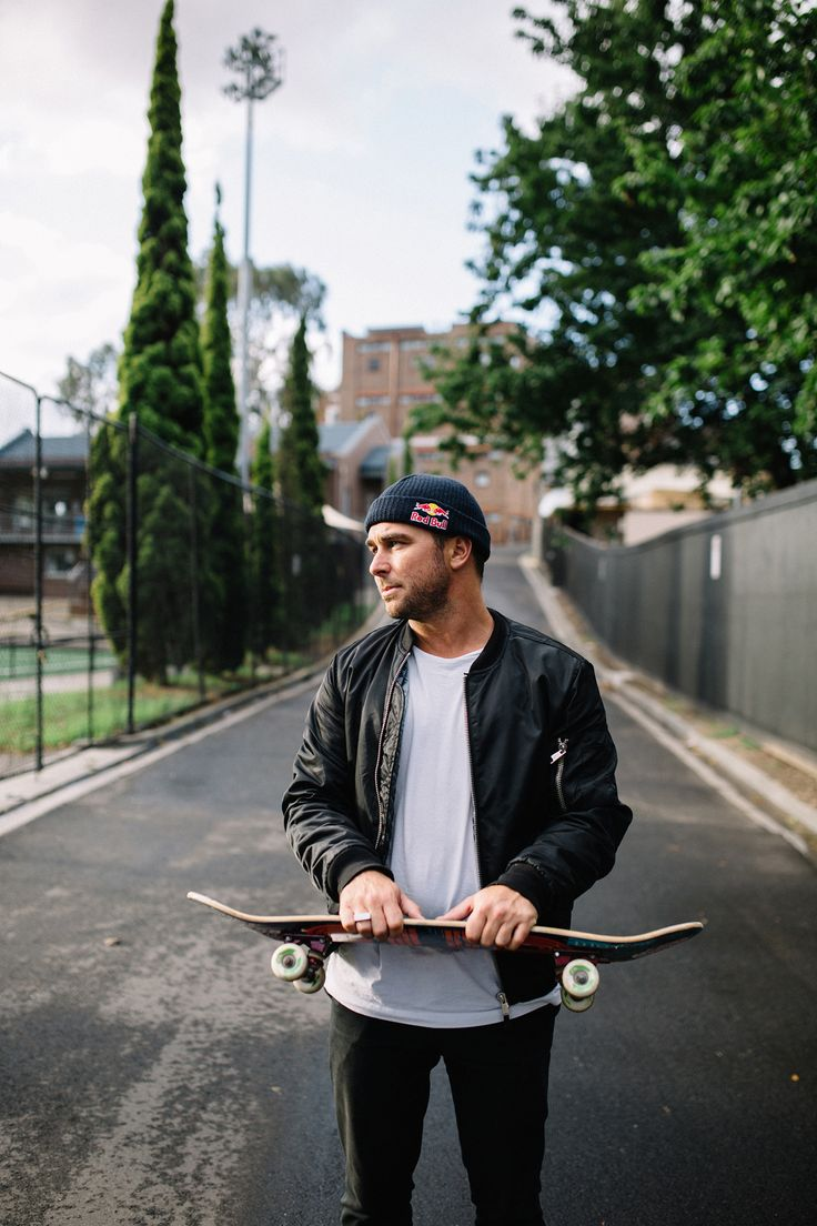 Skateboarder, TV Presenter & Producer Corbin Harris wearing The Eden.
