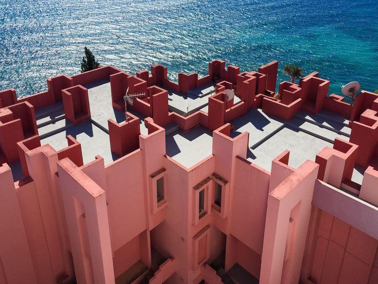 La Muralla Roja, Calpe, Spain