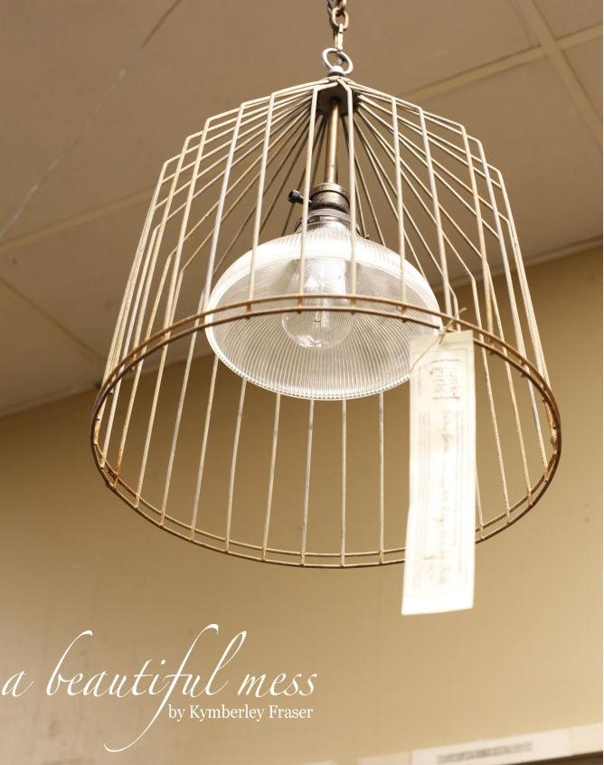 Industrial lighting - living room?