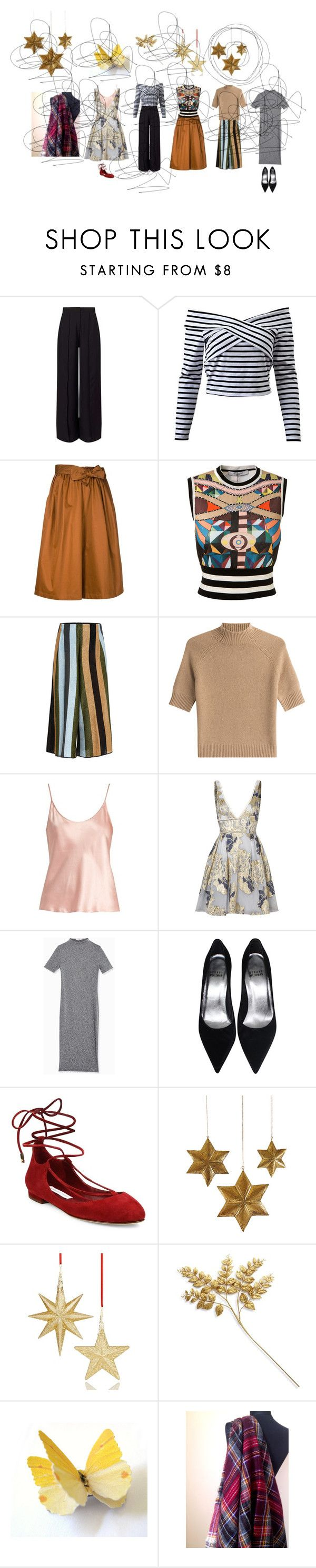 """""""Christmas gift"""" by talma-vardi ❤ liked on Polyvore featuring Miss Selfridge, Tome, Givenchy, Circus Hotel, Theory, La Perla, Notte by Marchesa, Diane Von Furstenberg, Cody Foster & Co. and Holiday Lane"""