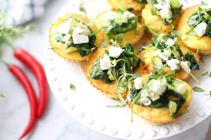 Maria Pogosjan delar med sig av hälsosamma recept på sin blogg Kocken i klackar. Testa hennes goda och nyttiga omelettmuffins, perfekta som snacks eller en matig frukost!