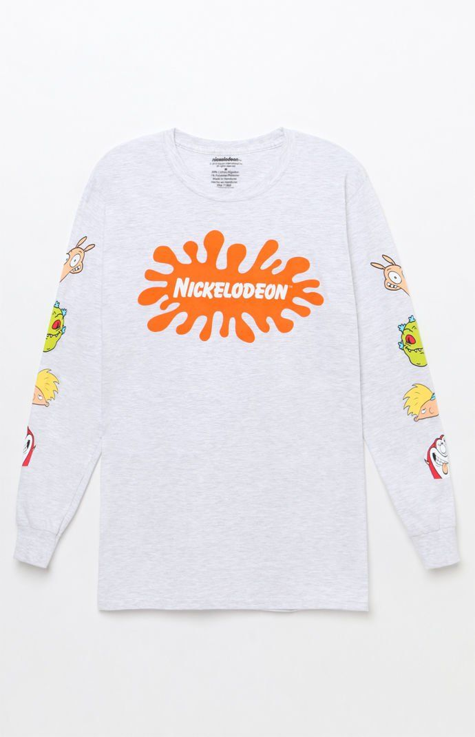 116c2b8ca9a Nickelodeon All Stars Long Sleeve T-Shirt | My style in 2019 | T ...