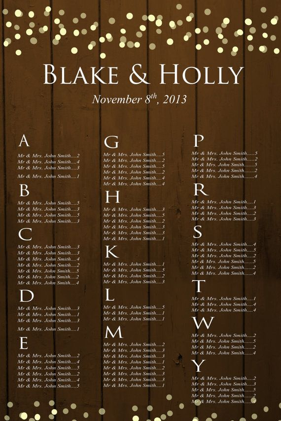 47 best Wedding Seating Chart \ Table Number Love images on - wedding charts