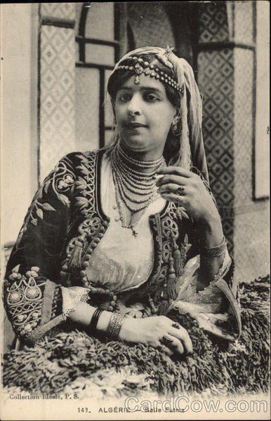 Algerie - Belle Fatma Arab