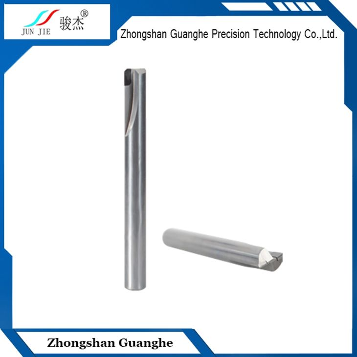 PCD milling cutter(single/double/multi flutes) to process aluminum,copper,plastic,powder metallurgy and other non-ferrous metals and non-metal.The features are no burr,high efficiency,high cost-effective,long using life.