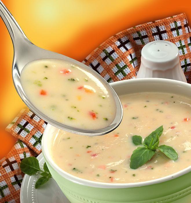 Суп овсяной протертый вегетарианский