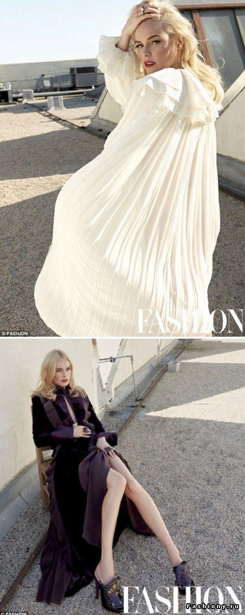 Кейт Босуорт в ноябрьском Fashion Magazine