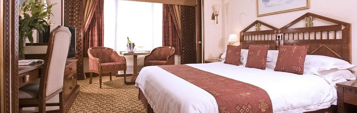 start off at the 5 star Nairobi Serena hotel