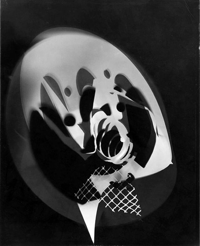 László Moholy-Nagy : Photograms
