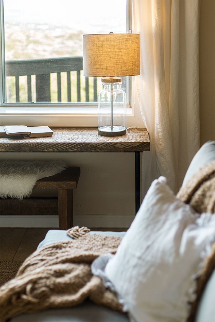 DIY Pipe Leg Desk & rustikale Holzbank Tutorial – #Bank #Schreibtisch #DIY #Leg #Pipe #rustic #Tutor …