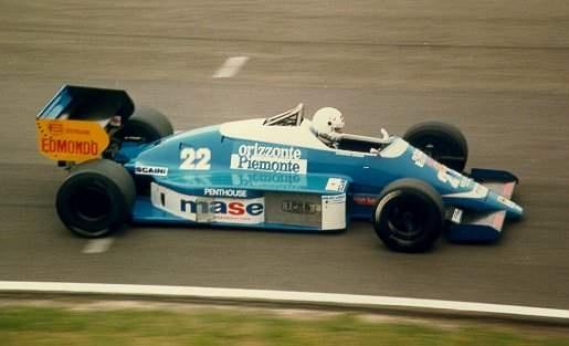 Christian Danner, 1986, Osella FA1F