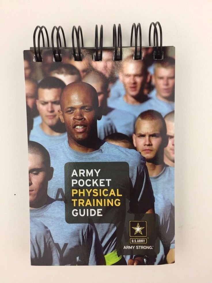 Army Pocket Physical Training Guide Book US Military