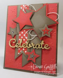 Nicole Bonar Independent Stampin' Up!® Demonstrator Australia: Crazy Crafters April Blog Hop with Special Guest Dawn Griffith