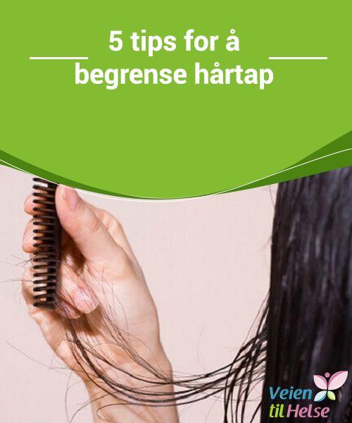 5 tips for å begrense hårtap  Hvis vi #mangler jern eller sink kan håret se tørt og usunt ut. #Fiskeolje og ølgjær er to #ingredienser, av mange, som kan gi håret de nødvendige vitaminene og #mineralene.