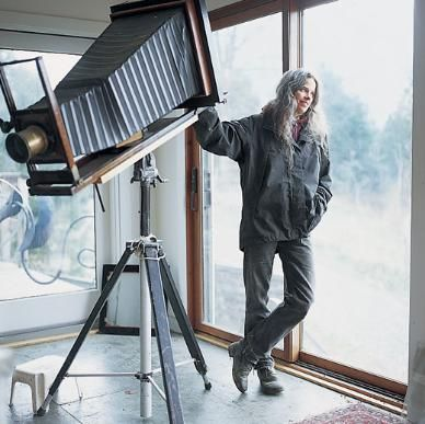 I love love love Sally Mann! Sally Mann is one of the those artist you either love or you hate. I happen to love her! I love that she uses a 100-year-old camera to truly capture the white and black...